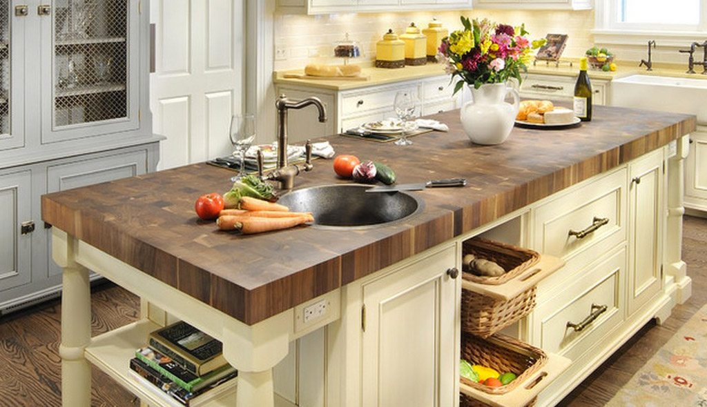 Butcher Block countertops are an excellent choice for serious chefs and anyone who wants to add the natural warmth and beauty of wood to their kitchen.  MORE INFO